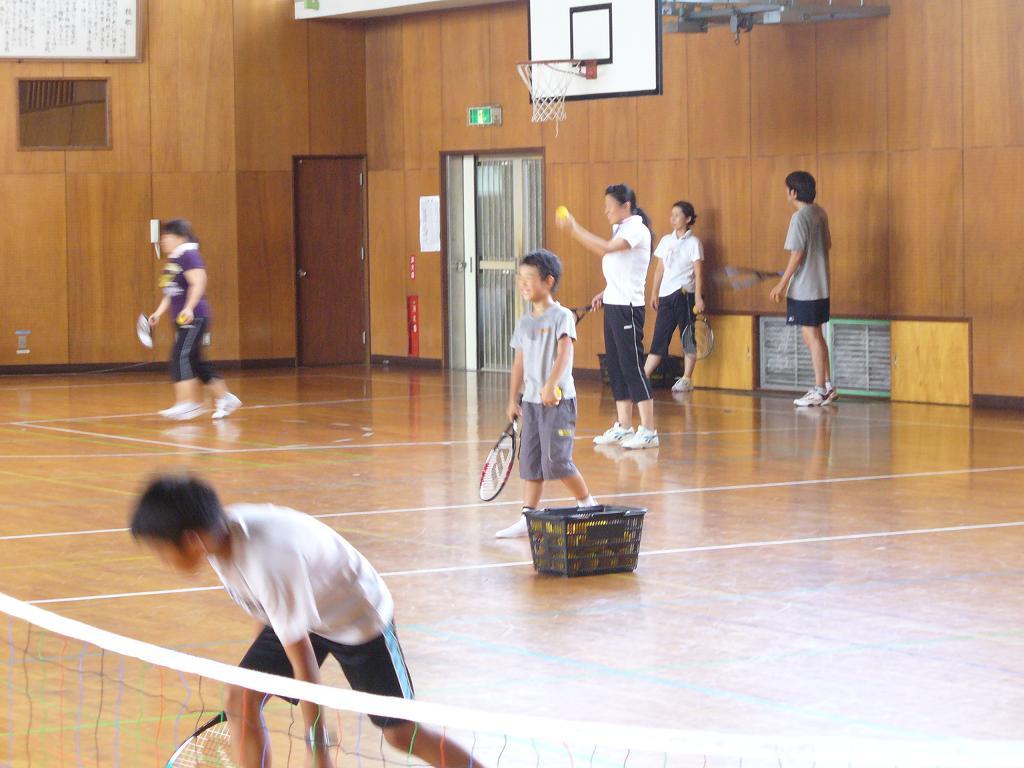 スポンジテニス教室の画像