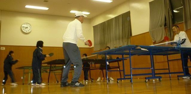 卓球講座1月28日の日記の画像
