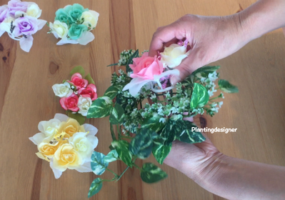 花の入れ方