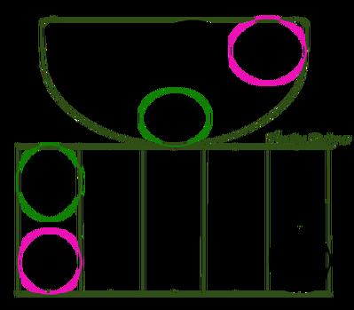 日々草ハンギングバスケット(2G)