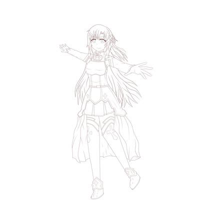 アスナ(SAO)15