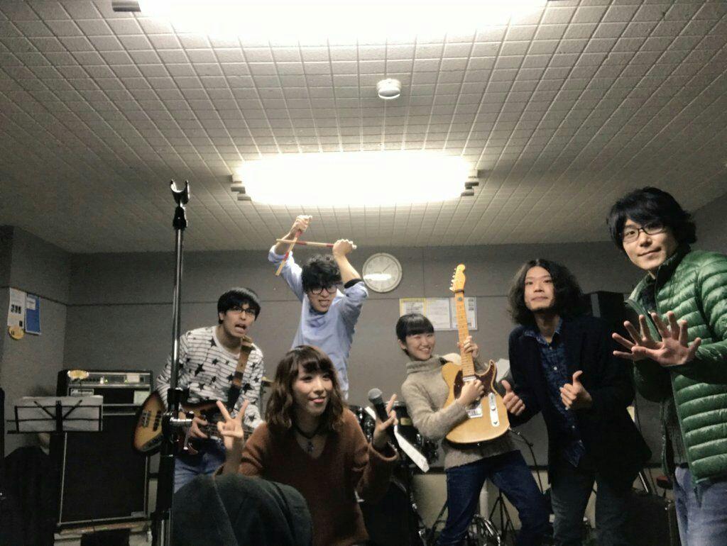 スタジオ、バンド練習、SAYAKAワンマン