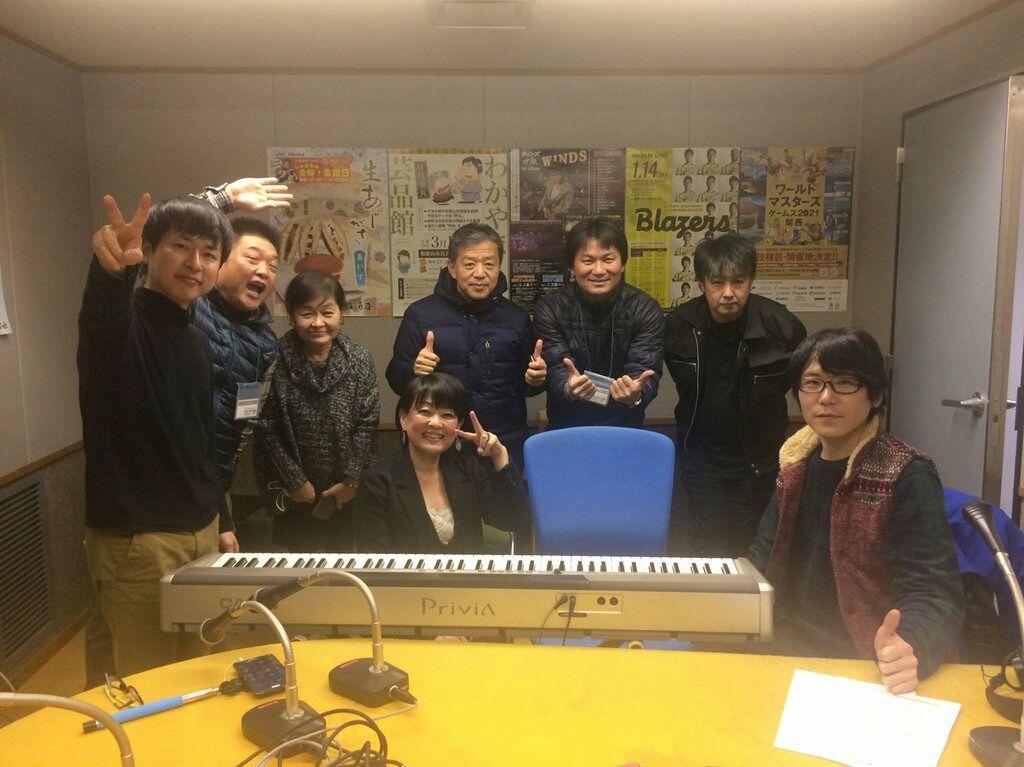 和歌山放送ラジオ  ハッピーマンデー出演後