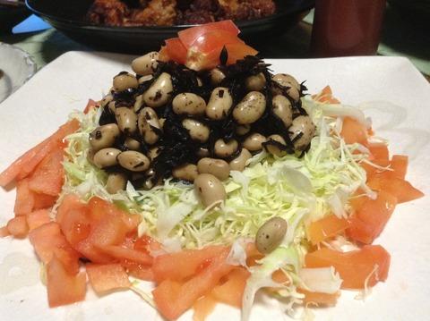 夕飯-3 サラダ