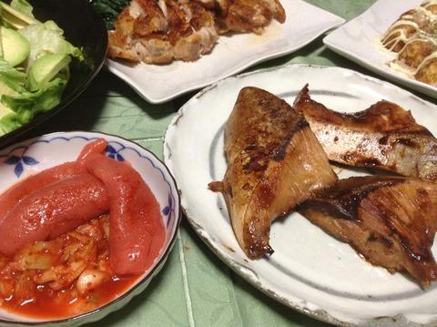 夕飯-10 魚