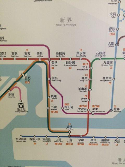 MTRマップ