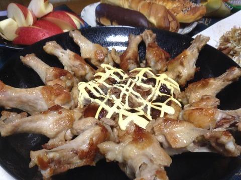 夕飯-1 チキン