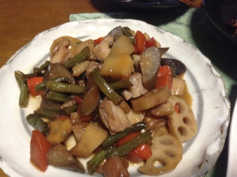 夕飯-3 煮物