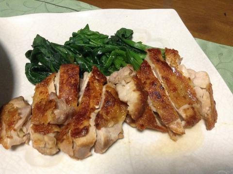 夕飯-10-チキン