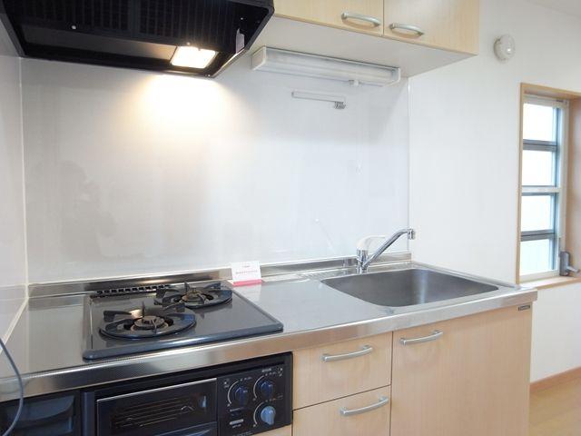 イーヴス201号室キッチン