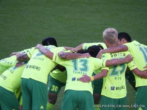 サッカー観戦☆