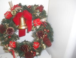 カラー クリスマスリース