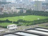 朝霞浄水場 高度浄水化施設第二期工事予定地