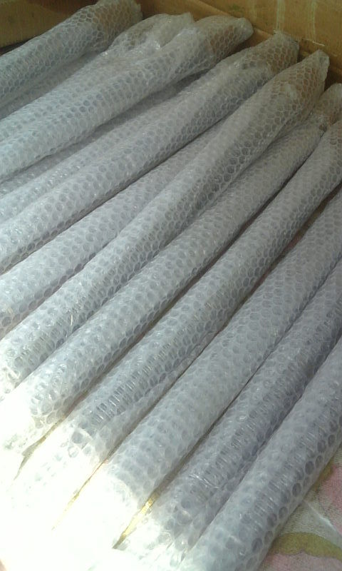 シャフトの機能部分へ<br> ハードクロームメッキを30μ施し羽布仕上げを行なう