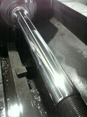 油漏れ、オーバーホールそして再メッキ施工。 066