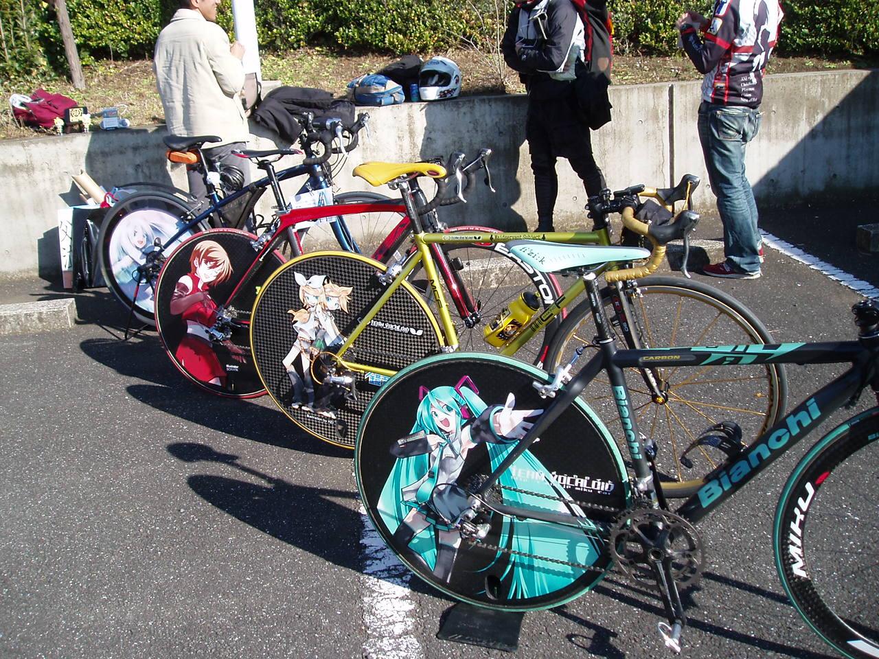 自転車の 自転車 スポーク : ... スポークがない自転車「Loopwheel