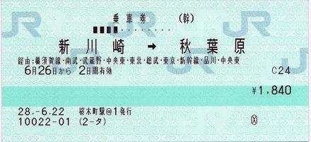新川崎⇒秋葉原 経由:横須賀線・南武