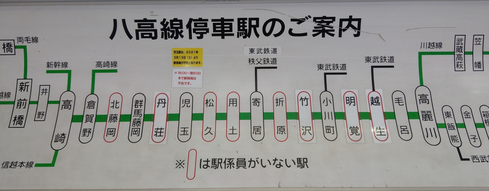 八高線案内図1