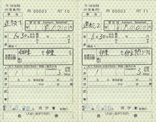 出補 続南伊東⇒伊東⇒伊豆熱川 2018.-6.30