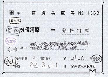 分倍河原⇒分倍河1368