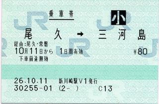 尾久⇒三河島 経由:尾久・常磐
