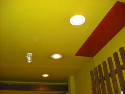 電球色LEDダウンライト1