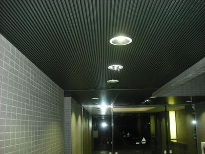 LEDダウンライト取付3