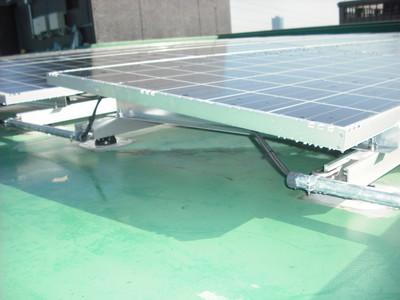 太陽光パネル配管詳細