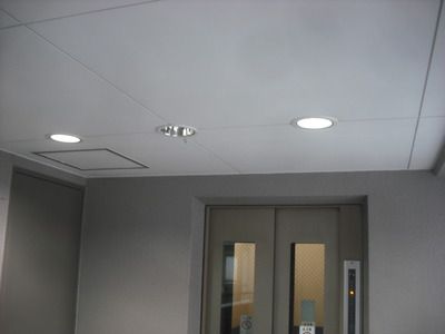 LEDダウンライト取付2