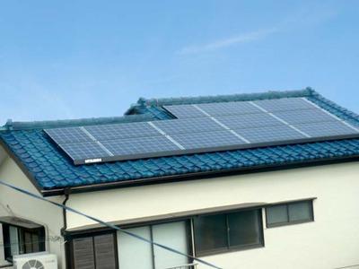 吉田邸太陽光発電外観