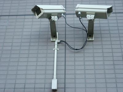 防犯カメラ取付1