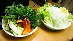 20091112自炊部野菜しゃぶしゃぶ(小)