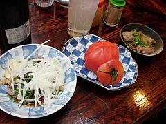 20090404酒の奥田-かつおたたきトマト煮込み
