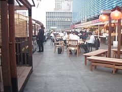 20090618 ビアガーデン 梅田 神仙閣