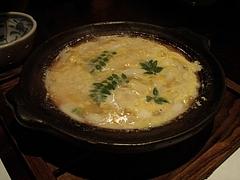 20090413櫂-白魚と筍の卵とじ