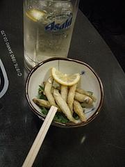 20090412堀内酒店-ハイボールワカサギ