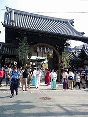 2010天神祭り24日 7:30宵宮(オープニング)