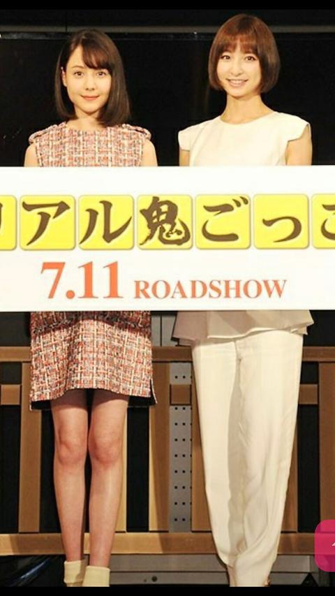 トリンドル玲奈、篠田麻里子、真野恵里菜5