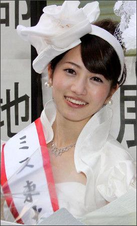 ミス東大・藤澤季美歌さん