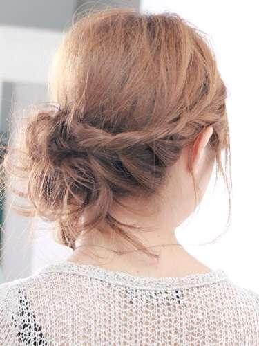 浴衣の時の髪型2
