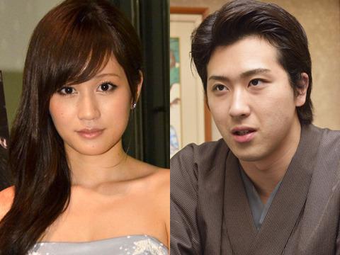 前田敦子(23)&尾上松也(29)