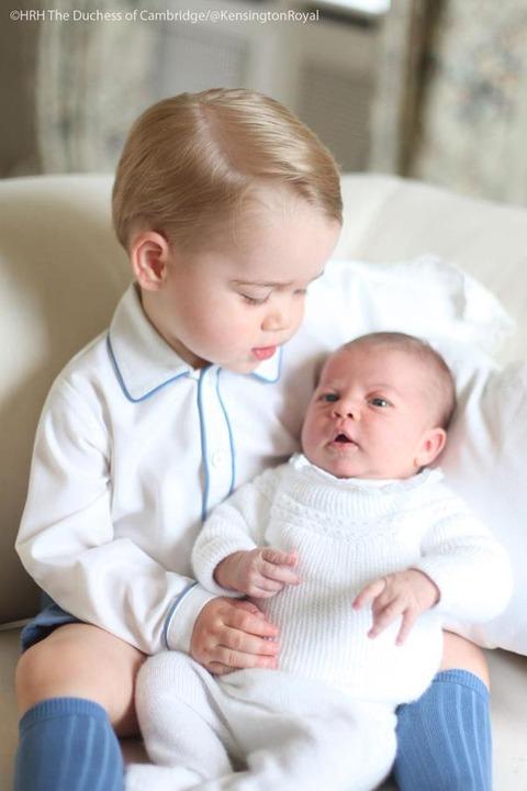 シャーロット王女とジョージ王子3