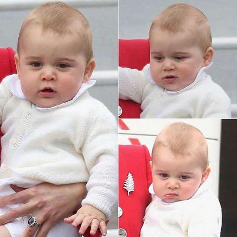 シャーロット王女とジョージ王子7
