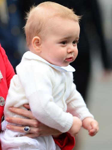 シャーロット王女とジョージ王子8