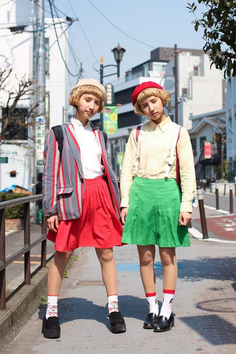 双子ファッション