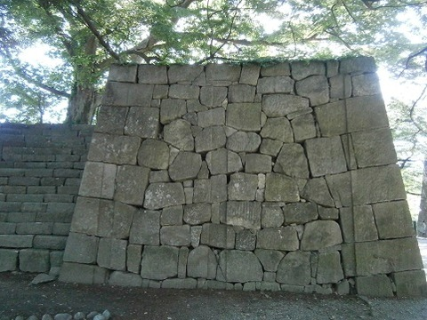 二の丸東門跡