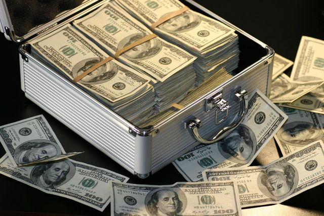 ドルとケース