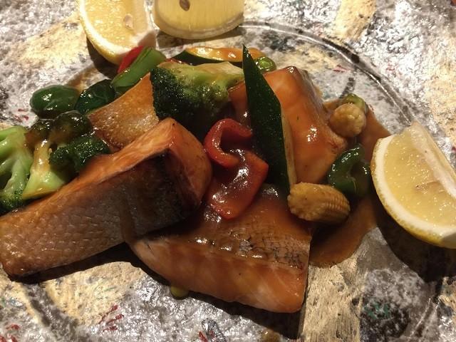 真空管 魚料理