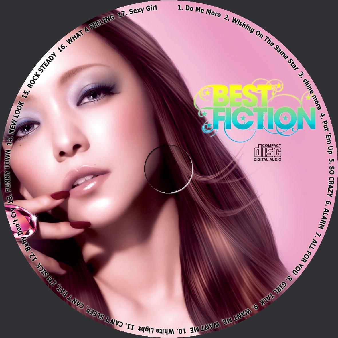 Best fiction cd dvdラベル