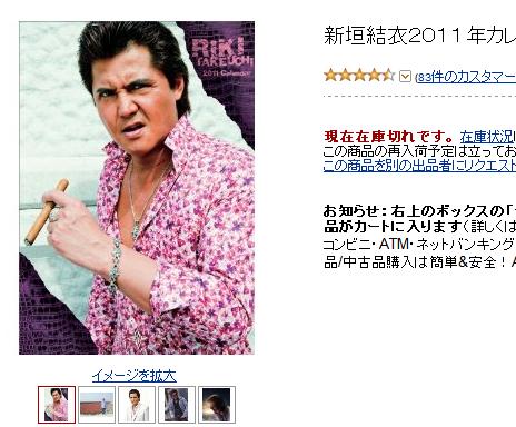 新垣結衣2011年カレンダー